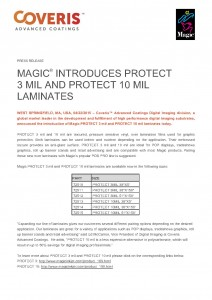 Magic Introduces PROTECT 3 mil and PROTECT 10 mil Laminates_1