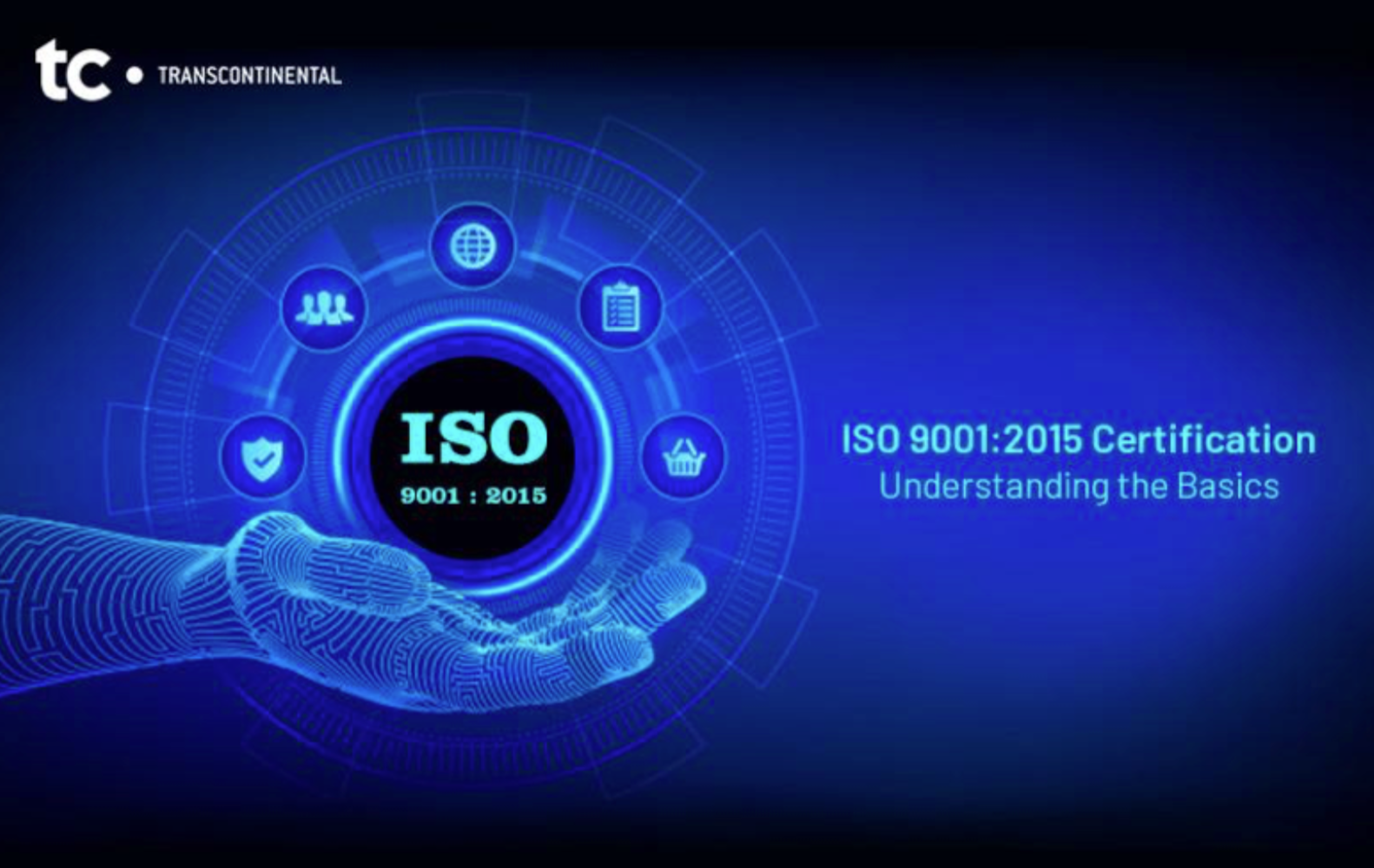 ISO 9001 2015 Certification promotional photo