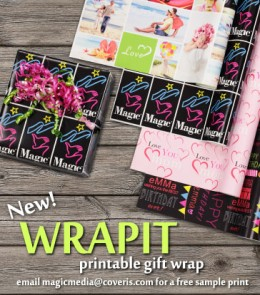 WRAPIT  PRINTABLE GIFT WRAP